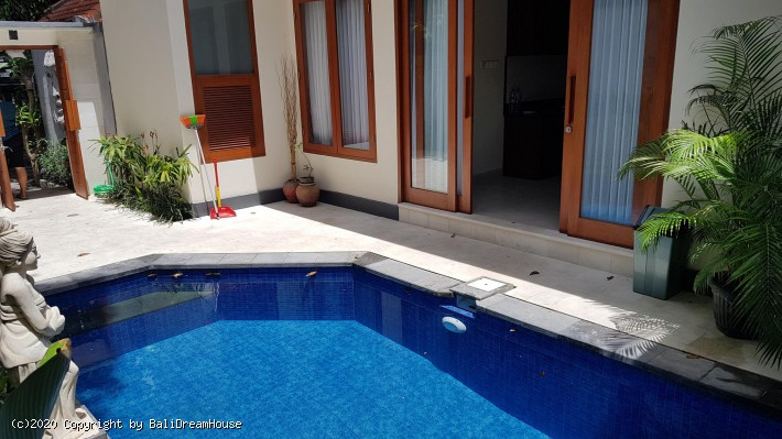 2-Bedroom beach side villa for rent in Sanur