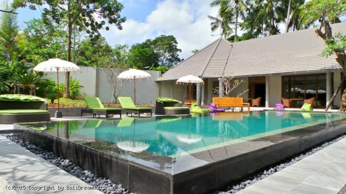 5-Bedroom villa for rent in Ubud