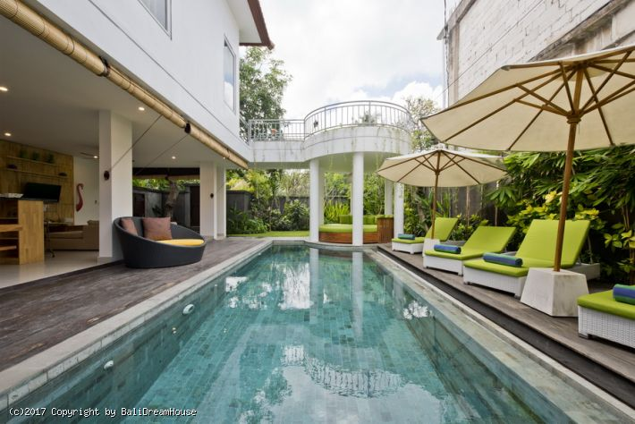 3-Bedroom beach front villa for rent in Seminyak