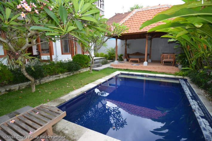 3-Bedroom villa for rent in Babakan, Canggu