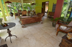 Beach front villa for rent in Sanur: