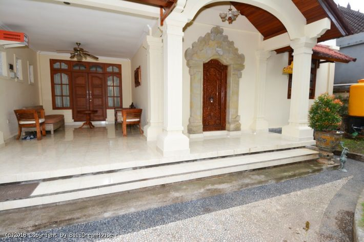 3-Bedroom house for rent in Sanur