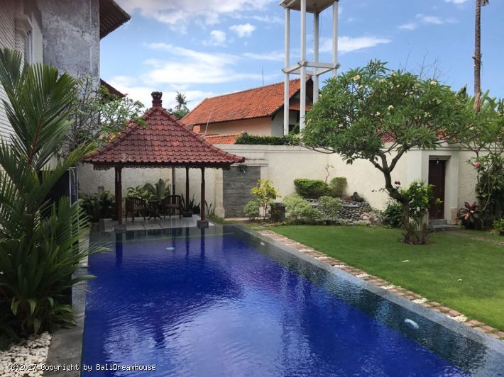4-Bedroom beach side villa for yearly rent in Sanur
